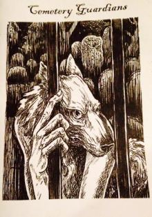 Cover of the original Cemetery Guardians 'Zine